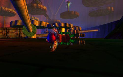 Bug dans l'Antre de Kigiu, je suis en dessous du jeu ! 2e photo.