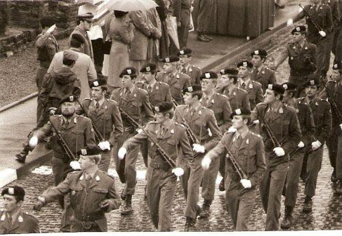 Escadron Alpha au défilé