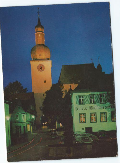 Carte postale d'Arnsberg