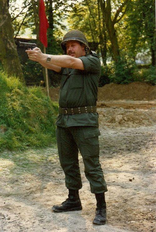Tir GP - Vigneron Buecke 22 05 1989 – avec Guy Wijdhooge.