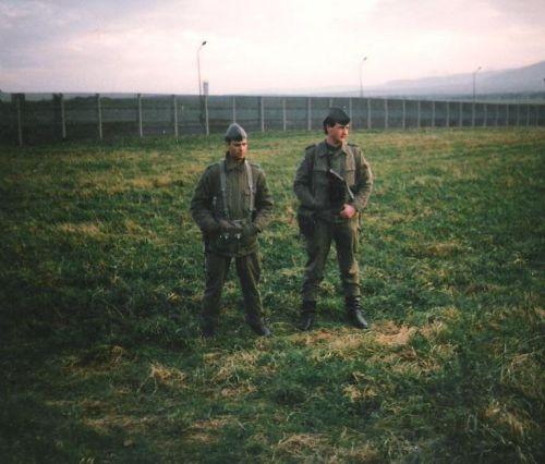gardes frontières Allemagne de l'est a Goslar