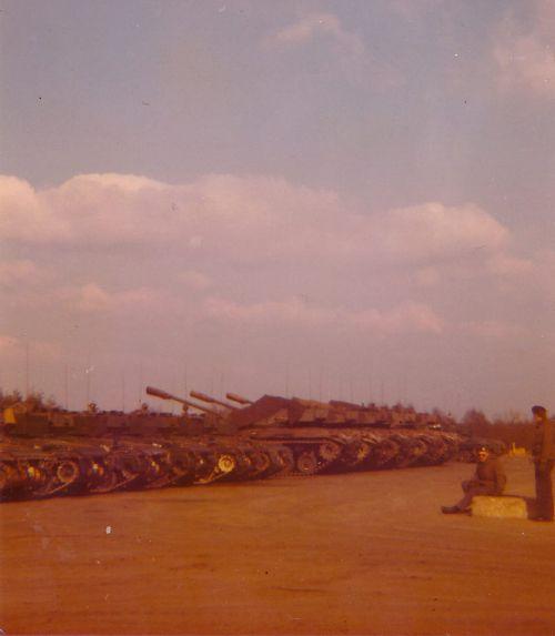 Corvée mun. + parking avec nos vieux M41