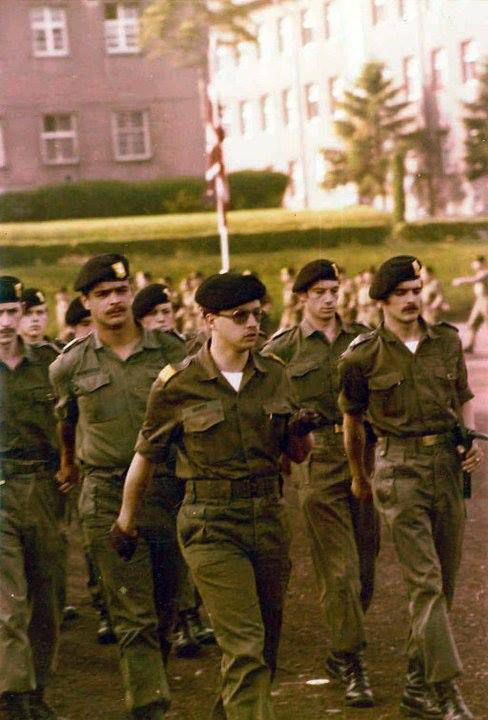 escadron Bravo au défilé