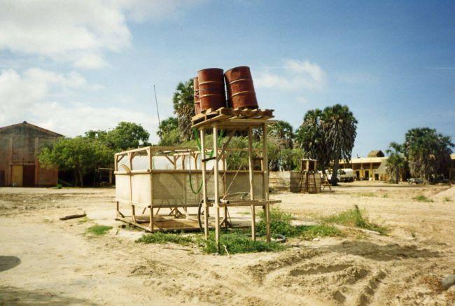 Le 4 ChCh en Somalie. Restore Hope, 1er contingent. Esc B amélioré.