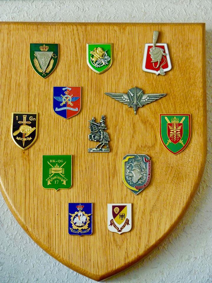 17ième Brigade lorsque j'ai quitté le service actif en 1998.