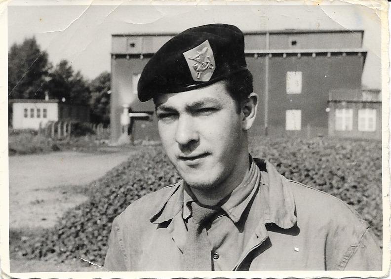 Moi, caserne Werl 1962.