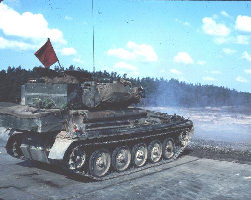 Tir 76mm au stand 5a (Bergen)