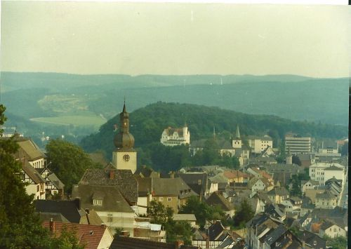 Arsnberg vue du château