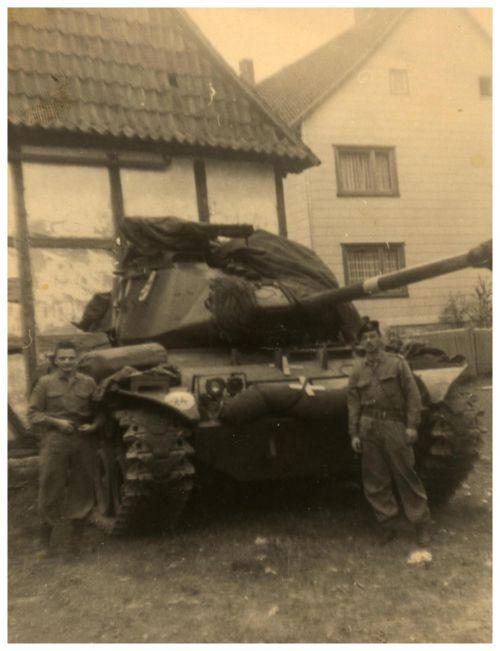 Weser 1964 x + Brig Lamine