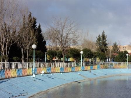 Lac artificiel du Parc d'attraction de Sétif