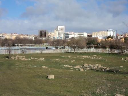Ruines romaines à Sétif ville