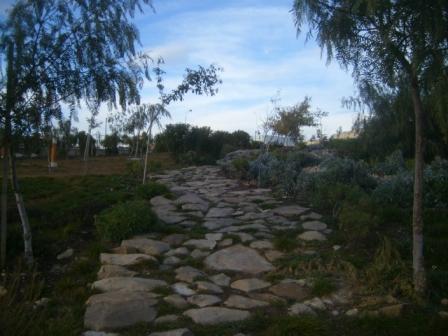 Jardin du premier novembre 1954 à Sétif