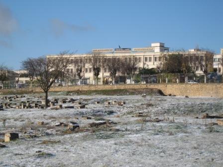 premières neige de décembre 2011 (ruines romaines)