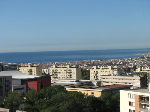 Nice vue de Cimiez