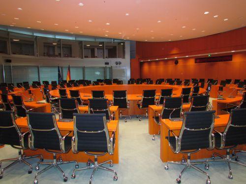 La salle des conférences internationales