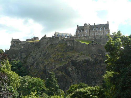 Castle of Edinbourg