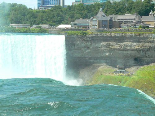 Vue chutes canadienne