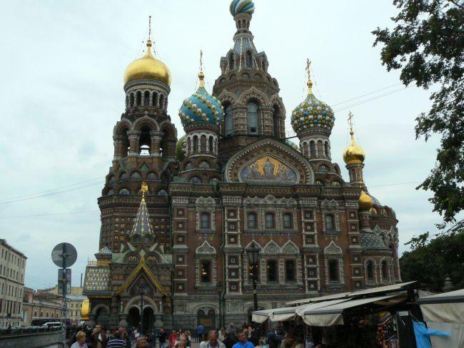 Saint Petersbourg 2016 Eglise Saint Sauveur