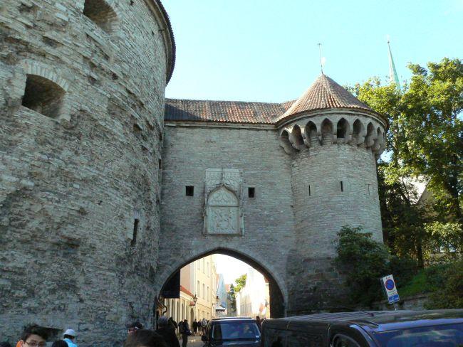 Entrée de la ville médiévale