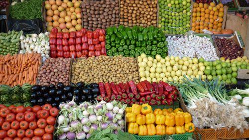 Marchands de légumes (marché)