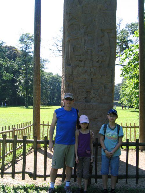 Stèle Mayas (Quirigua)
