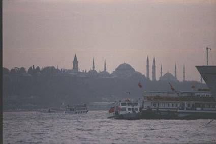 Bienvenue à Istambul (bosphore)