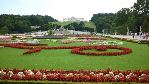 Jardin de Schonbrünn