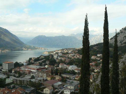 Paysage vu de la montagne