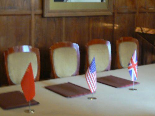 Signature des accord de Yalta 1945