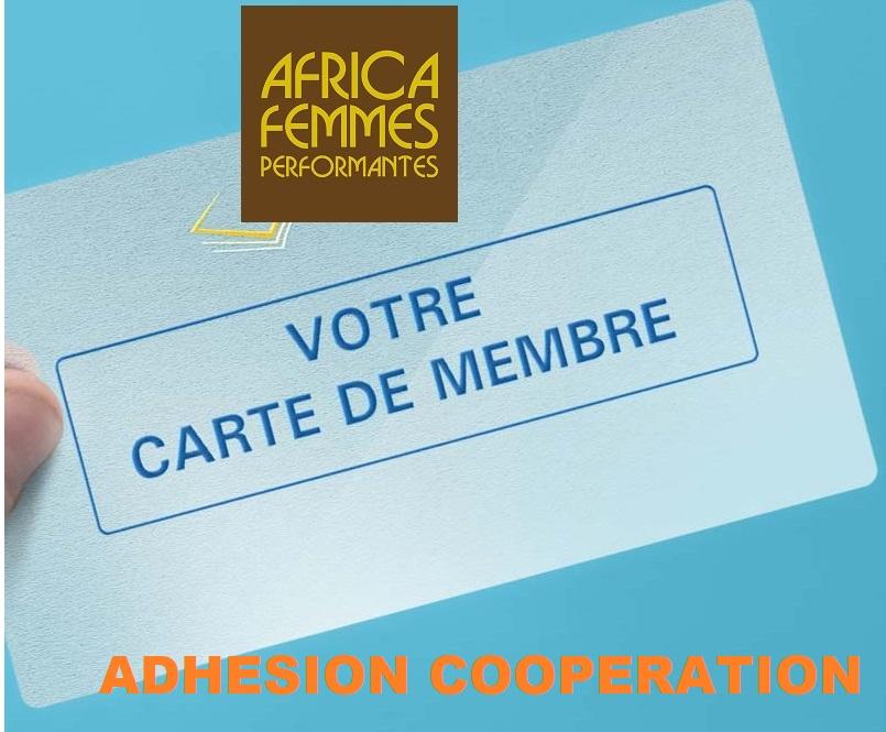 Carte-de-membre ADHESION COOPERATION