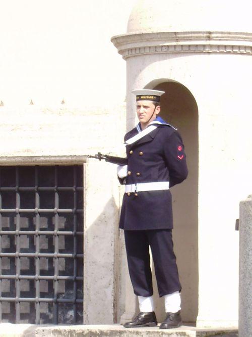 garde du président Italien