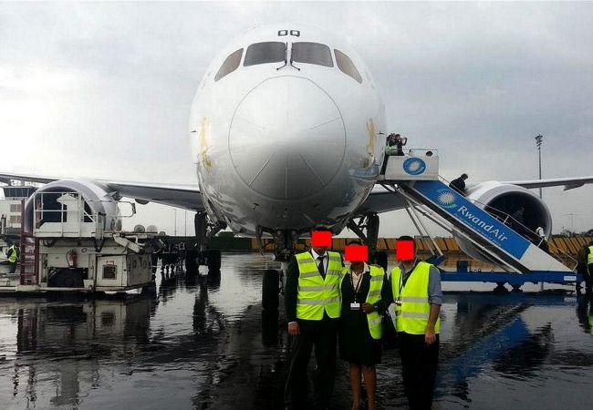 First Dreamliner to land in Rwanda