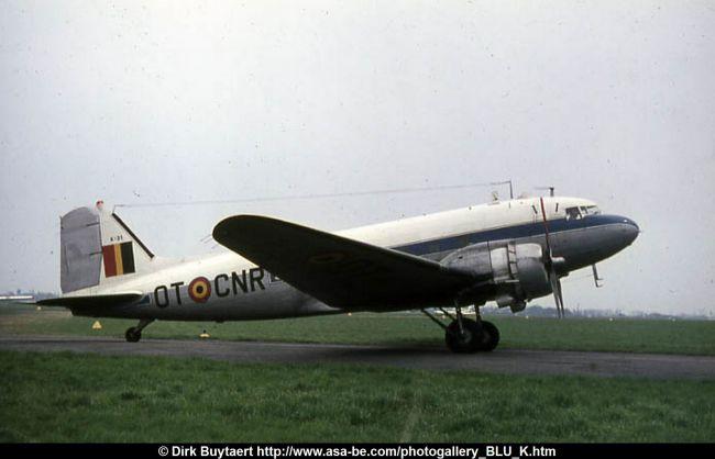 Video Douglas C-47B Dakota Belgian Air Force at Kamembe (Rwanda)