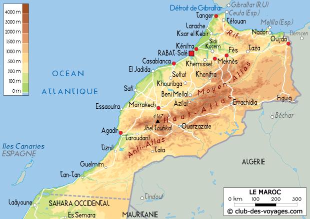 La Carte Marocain