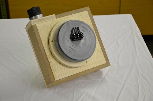 caisson turbine avec support moteur