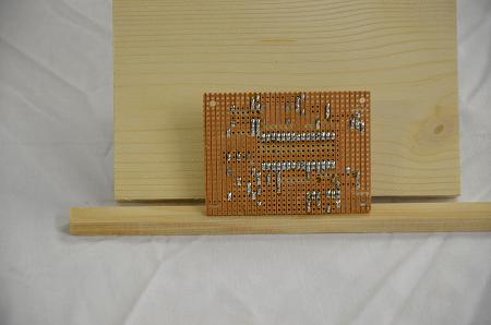les soudures du supports de carte arduino