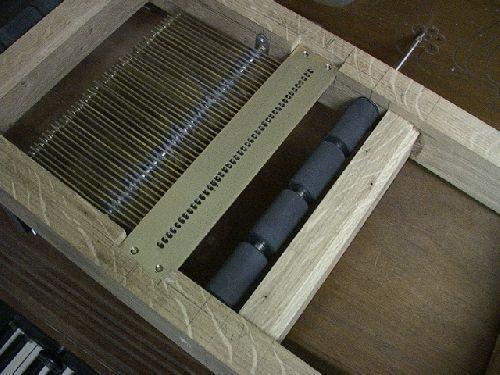 detail clavier mecanique