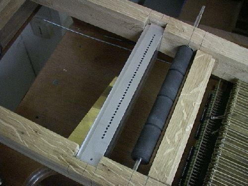 detail flute de pan pneumatique