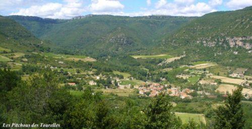 Le village et sa vallée