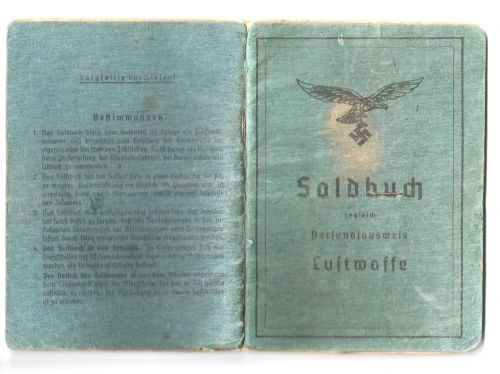 soldbuch luftsperr abteilung 207