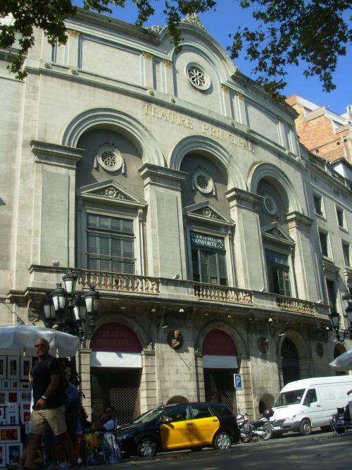 Théatre principal de Barcelone - Las Ramblas
