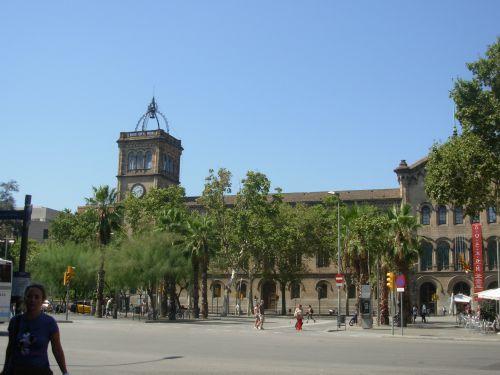 Université de Barcelone! Ca donne envie non?