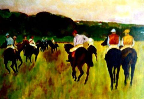 Chevaux Degas
