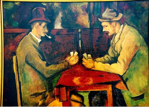 Joueurs de cartes Cezanne