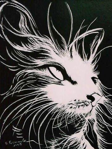 La tendresse d'un chat