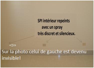 Rendre invisible les spi ass cheur elec 5v solution - Assecheur de mur ...