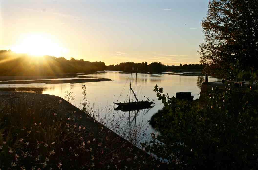 La Loire à COMBLEUX 45