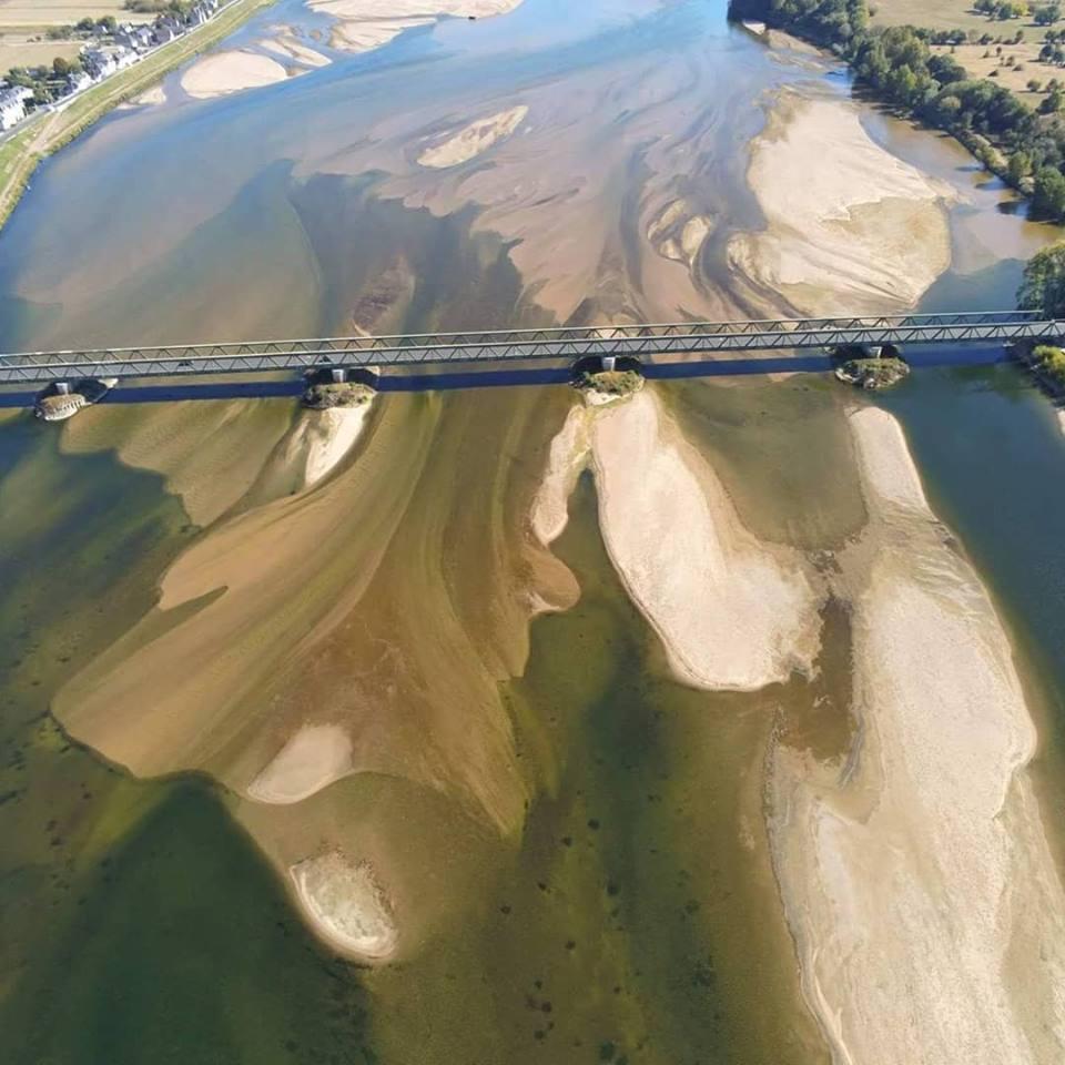 Le pont de Saint Mathurin-sur-Loire 49