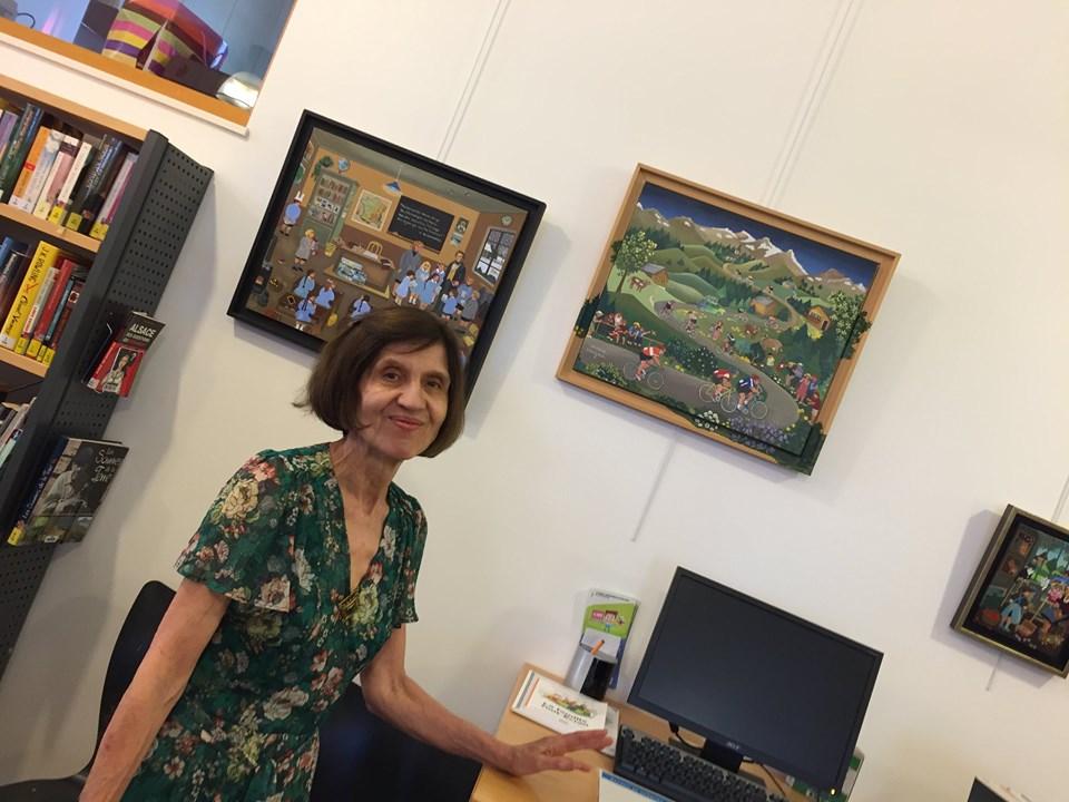 MUNDOLSHEIM 67/ EXPO Marie Vergne été 2019.
