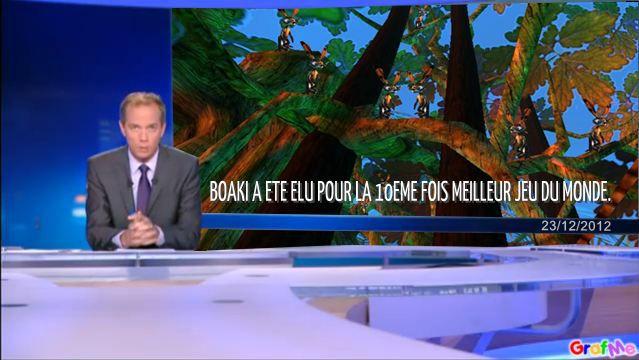 Boaki a la télé !